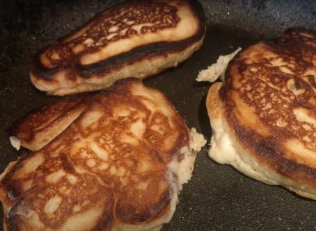 Dom's Vegan Banana Pancakes