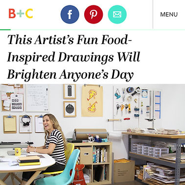 Brit and Co Stacy Michelson Foodie Artist