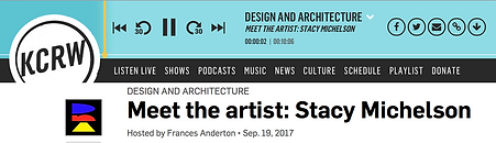 Stacy Michelson Interview on KCRW DNA Design and Architecture DNA Los Angeles