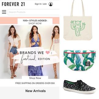 F21 Branded Shop