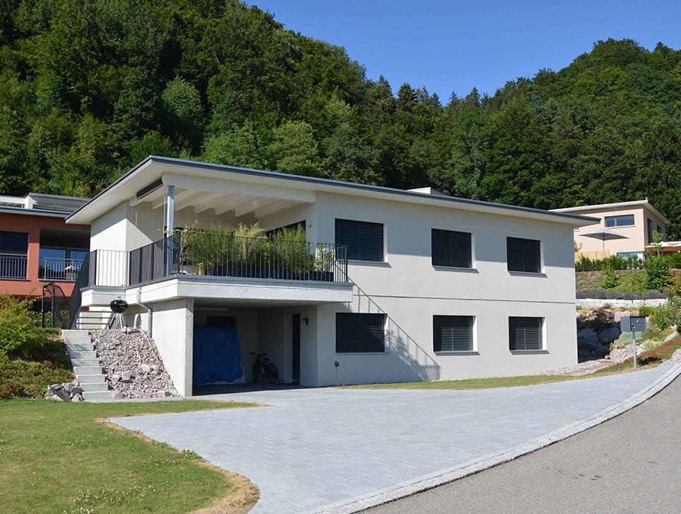 Einfamilienhaus Wikon