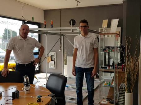 Update 1 zum Bau eines 3D Druckers