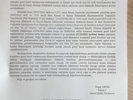 31TEMMUZ&30AĞUSTOS GENEL KURUL İPTALİ