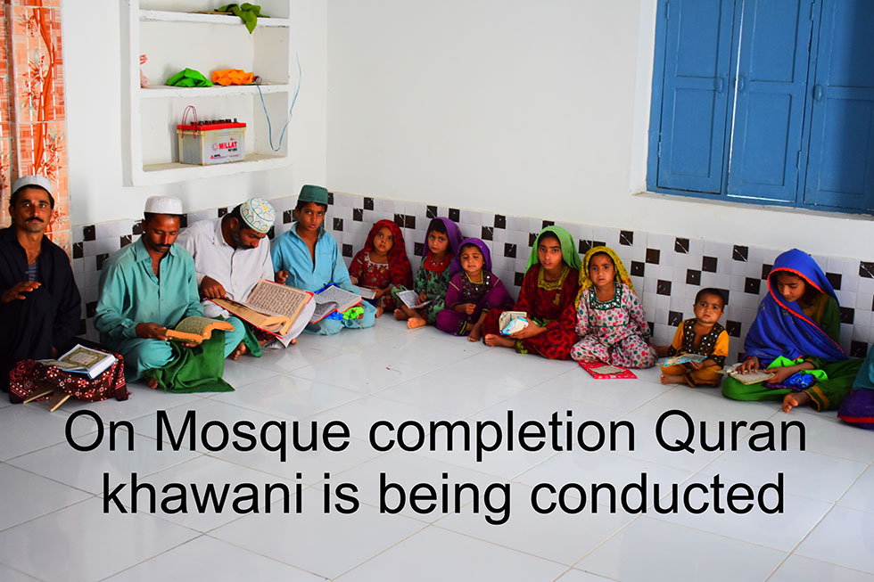 Mosque completion