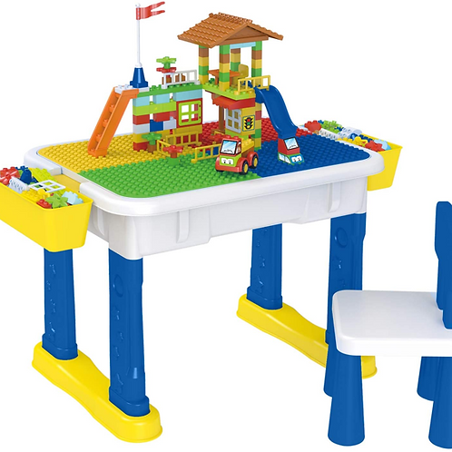6-in-1 Kids Multi Activity Table Set