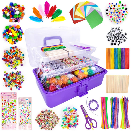 Kortes Art and Craft Supplies Kit for Kids