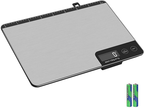 Amiloe Kitchen Digital Food Scale with 8-inch Measure Length