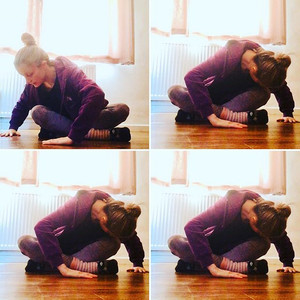 AFDance daily stretch💜 nice and gentle