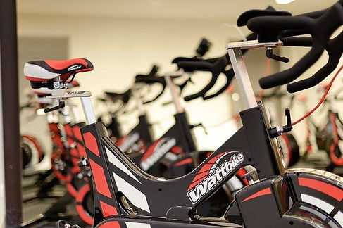 Watt bike indoor bikes in our indoor cycling studio