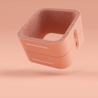Dispositivo Electrónico de color rosa