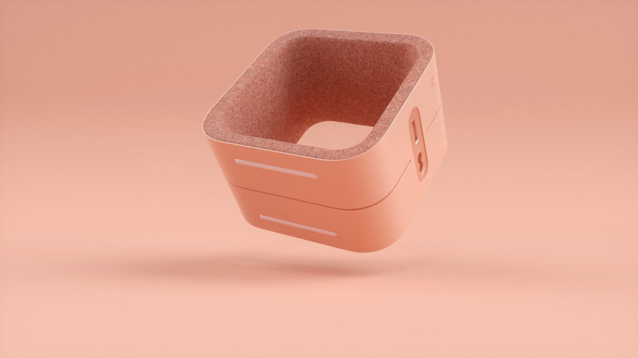 Pink Electronic Device