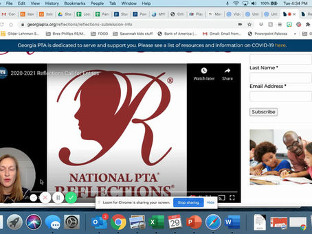 PTA Reflections Entry Deadline is Oct. 14!