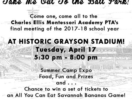 PTA Night at Grayson Stadium!