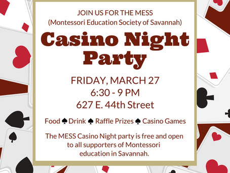 TAKE A GAMBLE ON M.E.S.S. CASINO NIGHT