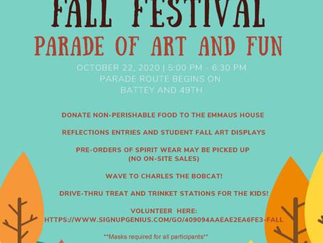 Charles Ellis Fall Festival 2020 Style!