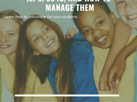 Learn how to be the best advocate for your student!