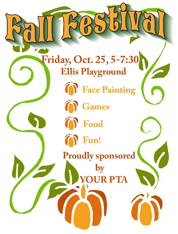 Charles Ellis Montessori Academy Fall Festival Oct. 25