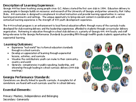 4th-8th Graders: 4-H Meeting