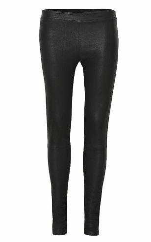 Stretch Leather Leggings - Final Sale