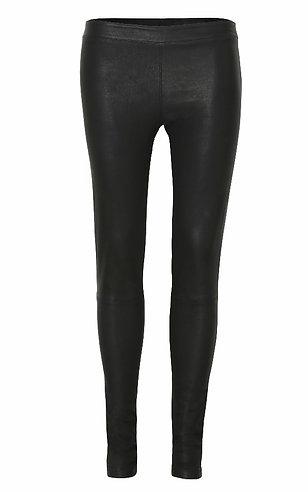 Stretch Leather Leggings - Final Sale