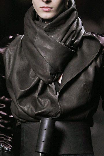 layered leather inspiration