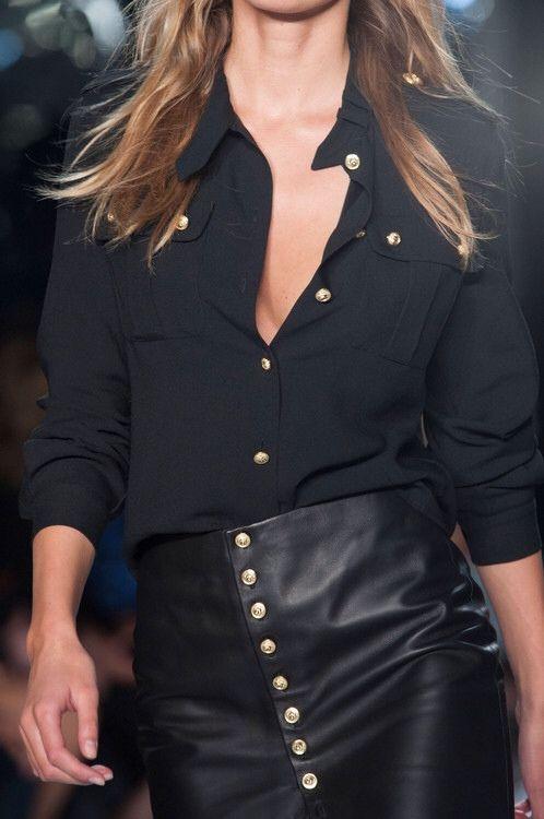 sexy leather pancil skirt