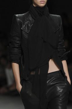 black leather inspiration