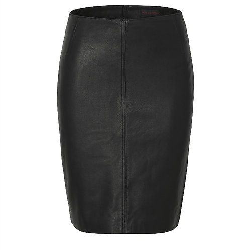 Classic Leather Skirt - Final Sale
