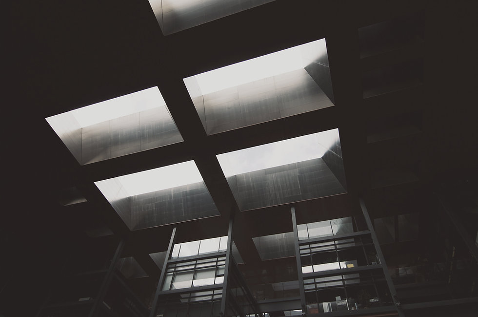 abstrakte Decke