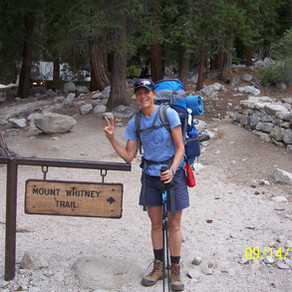 Start of Mount Whitney Trip