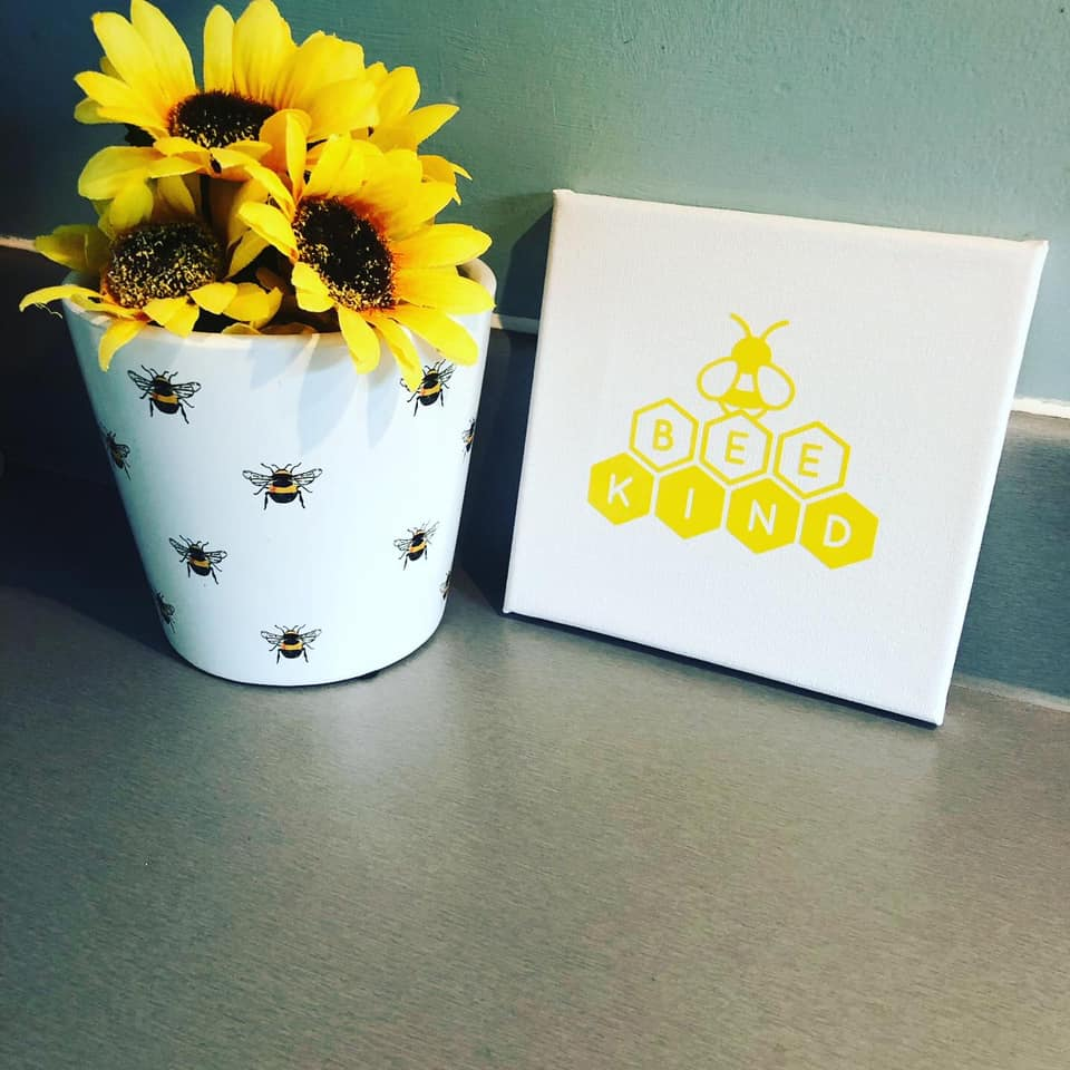 Bee Kind Canvas