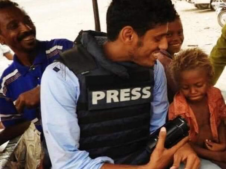 The assassination of the journalist for Agence France-Presse in # Aden, photographer Nabil Al-Qaiti