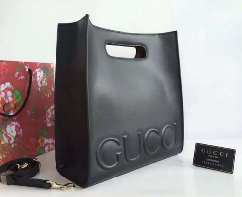 78a186ea17eec1 GUCCI XL LEATHER TOTE - TOP QUALITY