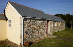 The back of the Hen House, facing Endean Farm