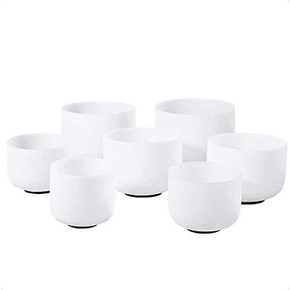 7 Set Chakra Crystal Bowls