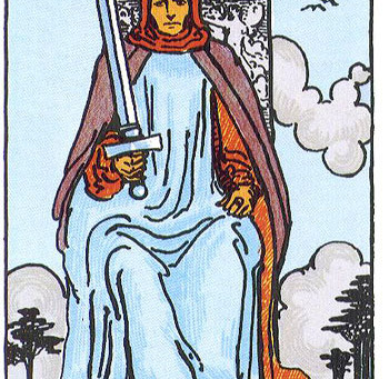 Full Moon Tarot Reading: King of Swords