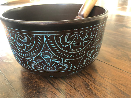 Intuitive Speaking Bowl: Hand Crafted Indian Singing Bowl