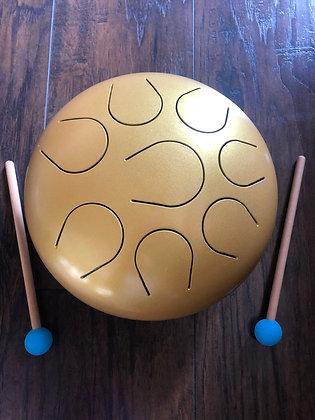Golden Chakra Tongue Drum