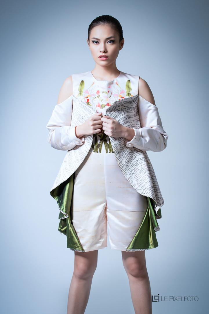 LaSalle College Jakarta Fashion Lookbook Art Director : @Shintadj Designer : Indahsari MUA : Neha Model : @ayabernedette Photography : @darrellneo