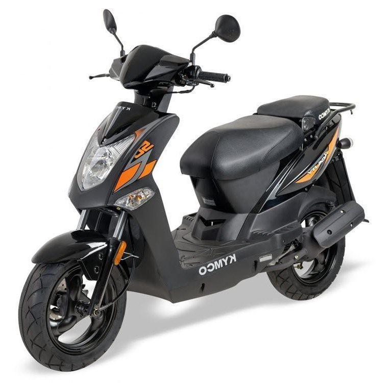 Kymco-Agility-zwart-oranje-euro4-e154659
