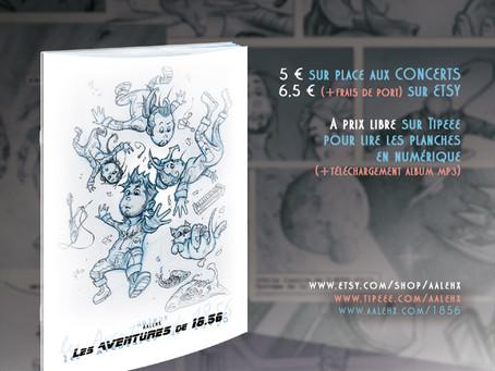 """Les histoires de l'équipage """"18.56"""" en BD"""