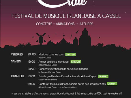 Workshop : Cassel Craig Festival #1