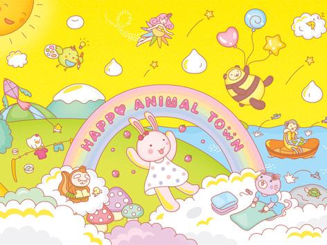 Happy Animal Town