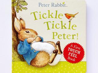 """【英文繪本】質感絨毛唯美觸摸書-""""Tickle Tickle Peter!"""""""