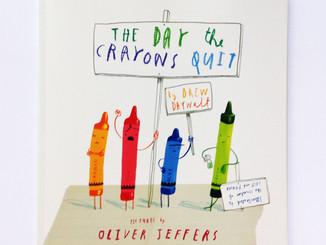 """【英文繪本】從物品的有趣角度看世界-""""The Day the Crayons Quit"""""""