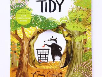 """【英文繪本】完美主義及環保的思考-""""Tidy"""""""
