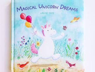 """【英文繪本】夢想的路上有獨角獸的陪伴-""""Magical Unicorn Dreams"""""""