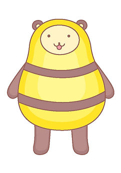 Boney蜂蜜熊
