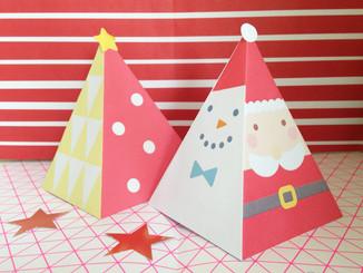 紙製聖誕樹