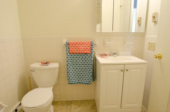 Lakewood Village Apartments Bathroom